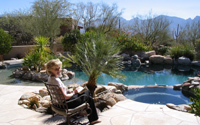 Erin's Hanging By The Pool